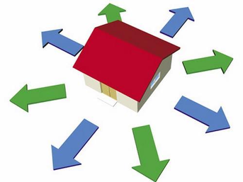 Gia chủ chọn hướng nhà phù hợp để mang lại vượng khí tốt, tránh điều không may xảy ra