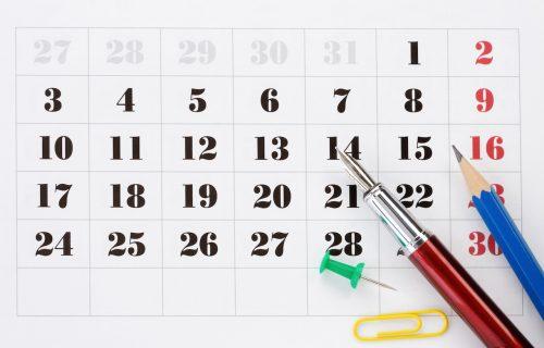 Xác định những ngày bất tương trong tháng để tiến hành công việc được suôn sẻ